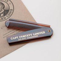 Складная расческа для бороды Captain Fawcett
