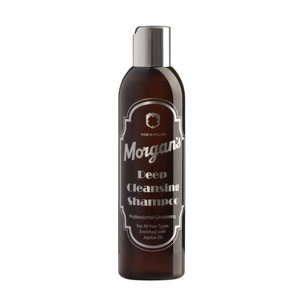 Глубоко очищающий мужской шампунь Morgans 250 мл