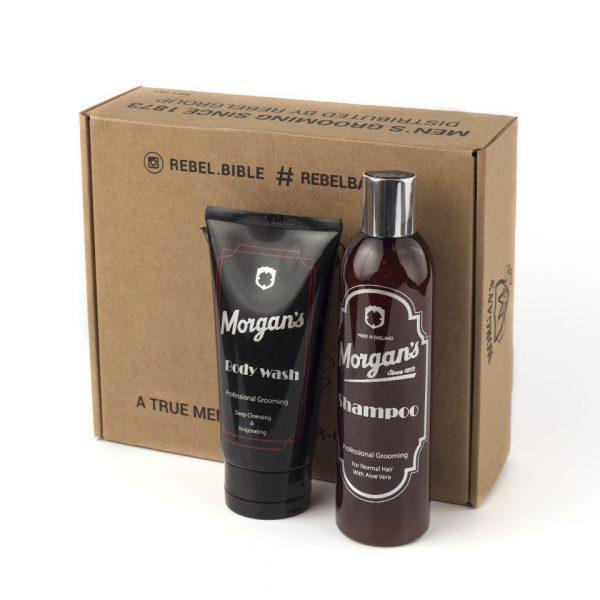 Подарочный набор шампунь и гель для душа Morgans