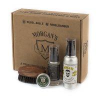 Подарочный набор для бороды с тестером Morgans