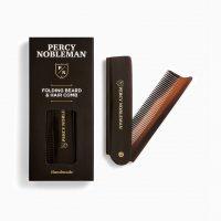 Складная расческа для бороды Percy Nobleman