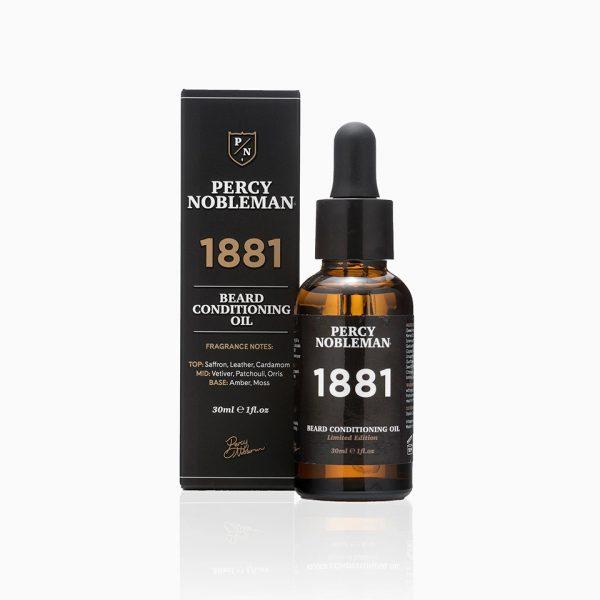 Масло для бороды Percy Nobleman 1881 30 мл