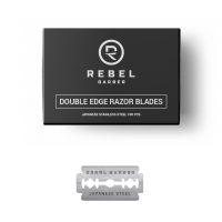Классические сменные лезвия REBEL BARBER Double Edge Blade 100 шт.