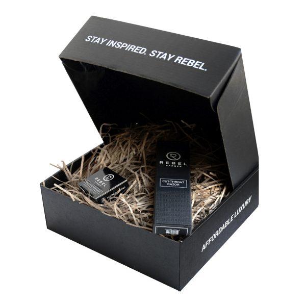 Подарочный набор REBEL BARBER Predator Black & Blades