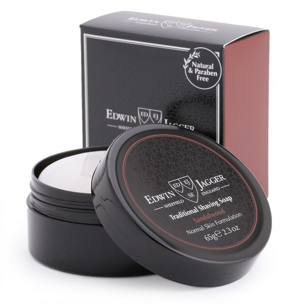 Мыло для бритья Edwin Jagger Sandalwood (Travel Container) 65 гр